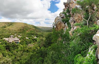 Eagles Crag at Shamwari Private Game Reserve